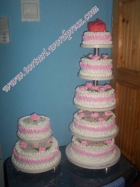 tort nunta 5 etaje
