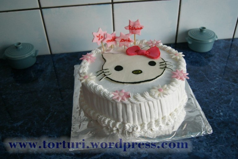 tort hello kitty 1